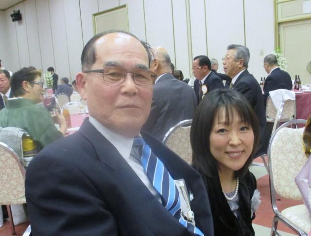 津中央LC奥島会長と、名張LC事務局員