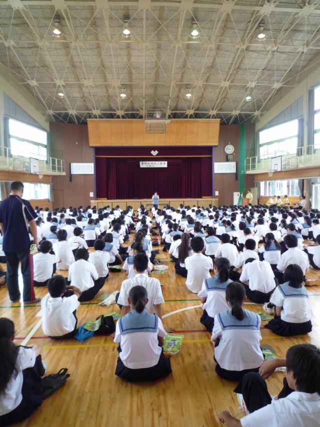 薬乱防止教室_桔梗中学2