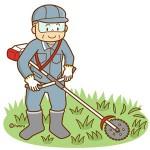 草刈りイラスト