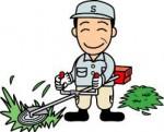 イラスト草刈り